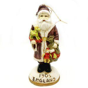 "Other - Vintage Ceramic Santa Ornament ""1905 England"""